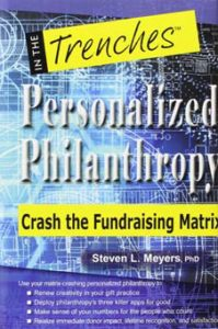 Book, personalized philantrophy, Steven Meyer